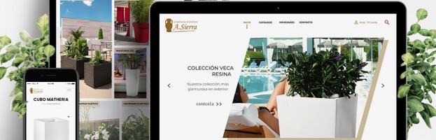 Página web Antonio Sierra