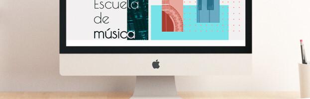 Web Armonía Musical con sección privada