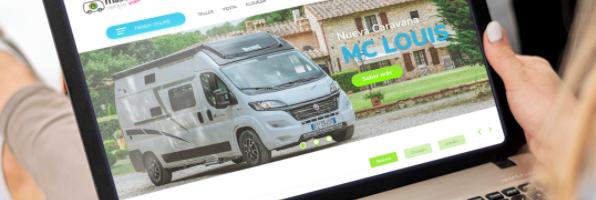 Restyling web Más que Camper